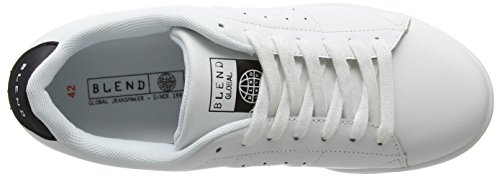 Blend 20700490, Sneakers basses homme Blanc (70155 Black)