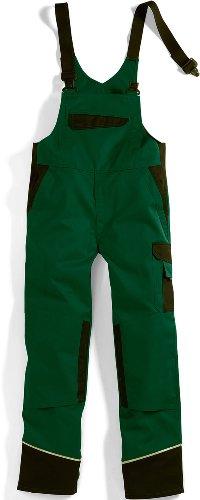 BP Workwear Arbeits-Latzhose Work & Wash - grün/schwarz - Größe: 62