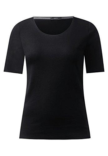 Cecil Damen T-Shirt Black (Schwarz)