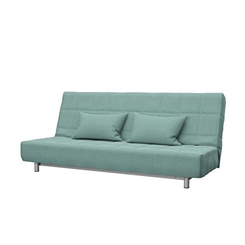 Soferia - Ikea BEDDINGE Fodera per Divano Letto a 3 posti, Elegance Mint