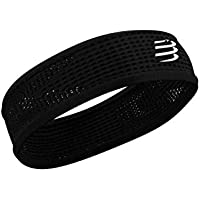 COMPRESSPORT Thin Headband On/Off Cinta, Unisex-Adult, Negro, Talla Unica