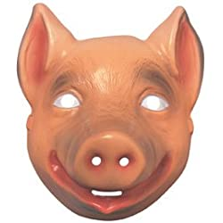 Rubie's-déguisement officiel - Rubie's- Accessoire Pour Déguisement Masque Animal Cochon- I-3276