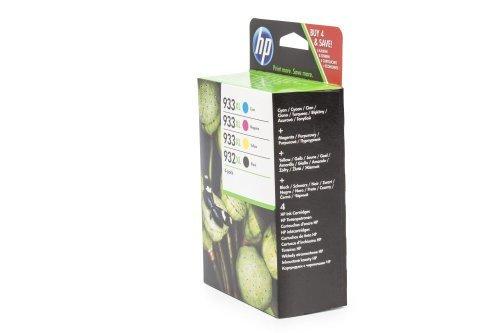 Hp - 932xl/933xl pack cartucce nero+ciano+giallo+magenta per stamapnti ink jet 825pg (c2p42ae)