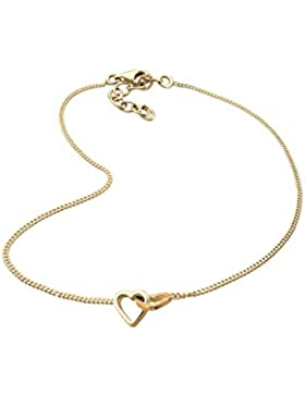 Goldhimmel Damen-Fußkettchen Fußschmuck Länge 25cm Silber vergoldet 0709371012_25