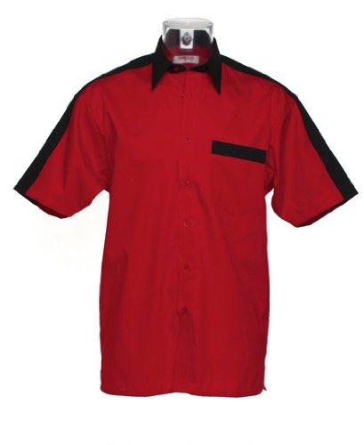Gamegear - T-shirt de sport -  - Manches courtes Homme Rouge - Rouge/noir