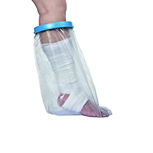 Novolife Schutzhülle für Dusche Fuß Schienbein Kind