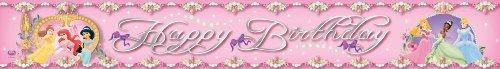 Disney Princess Amscan International Banner 5Yard Folie