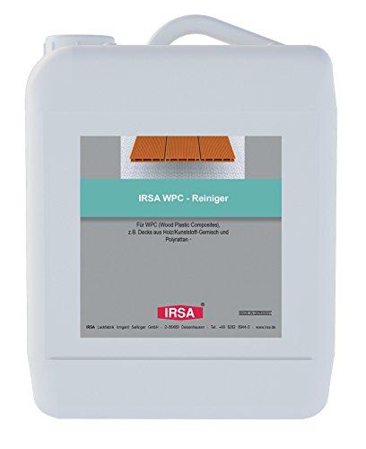 Gartenmöbel Deck (IRSA WPC Spezial - Reiniger - 2,5 Liter für Wood Plastic Composites und Polyrattan z.B. Gartenmöbel oder WPC Decks)
