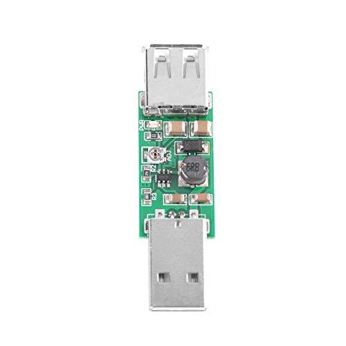 Aufwärtsmodul, USB to USB 5V to 6-15V Einstellbare Ausgangsspannung Aufwärtsspannungswandler DC-DC Leistungswandler für Motoren mit Geringer Leistung, LED Beleuchtung