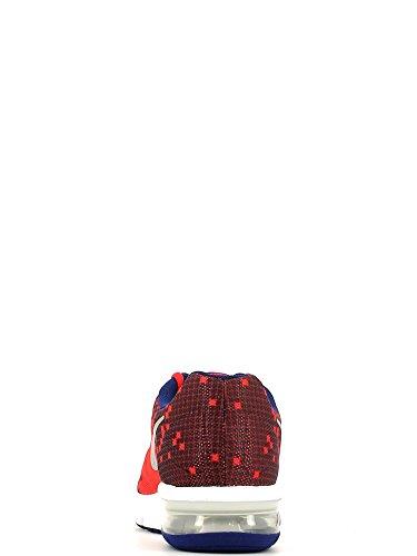 Nike Air Max Sequent Print (Gs), Chaussures de Running Entrainement Garçon Rouge