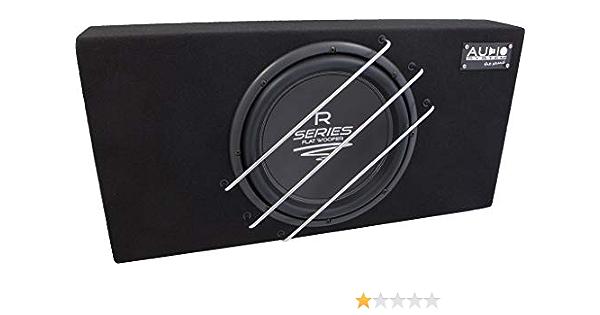 Audio System R 12 Flat G Radio Series High Efficient Elektronik