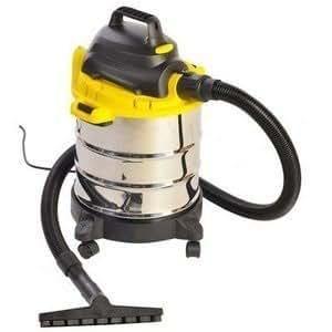 aspirateur eau et poussieres sans sac souffleur bidon cuve en inox de batiment 20l 1250w. Black Bedroom Furniture Sets. Home Design Ideas