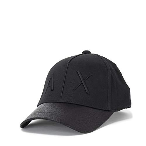 Armani Exchange Baseball Cap Logo Herren 954047 8A318 Uni schwarz