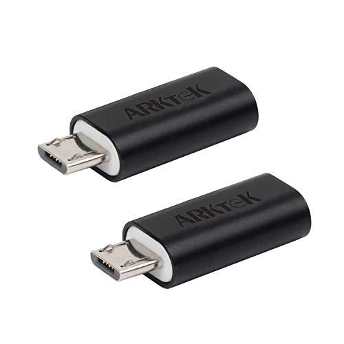 Adaptador USB tipo C (hembra), Adaptador Micro USB (macho) de ARKTEK a