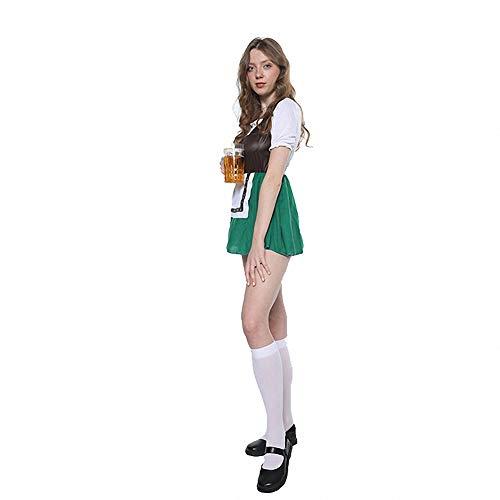 Bier Kostüm Dress - WSJ One Size Oktoberfest kostüm deutsch Festival Bier Dress Cosplay Halloween kostüme für Frauen erwachsenes kostüm mädchen Damen kostüm