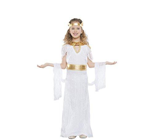 Imagen de disfraz de diosa griega largo para niña