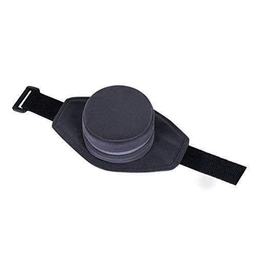 Healifty Verdicken Sie tragbaren Moxibustion-Kasten-Moxibustion-Behandlungs-Kasten mit Stoff-Abdeckung (Grau)