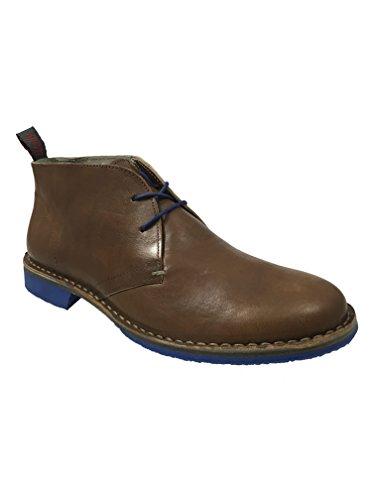 Wally WalkerCagliostro - Stivali Desert Boots uomo, Marrone (Cammello), 44 EU