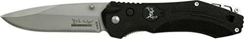 Elk Ridge Evolution Black ELK - Taschenmesser - Schwarz, Klinge sehr scharf, Klingenlänge: 8,4 cm
