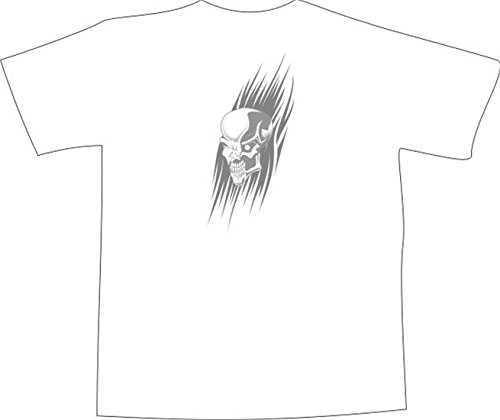 T-Shirt E1332 Schönes T-Shirt mit farbigem Brustaufdruck - Logo / Grafik ...