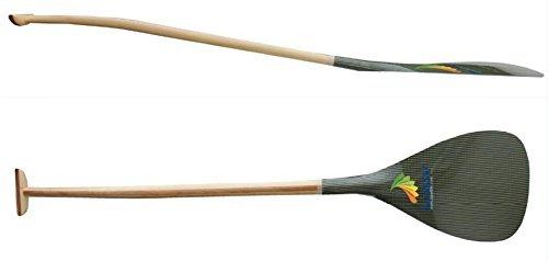ZJ SPORT leggero Hawaii tipo ibrido Kevlar lama Outrigger Canoe OC Pagaie Con mano Bent (Hawaii Outrigger)