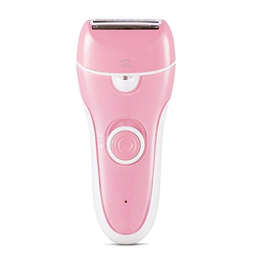 Trimmer für Damen Elektrorasierer Damen Rasierer Frauen mit LED-Licht USB Wiederaufladbar Damenrasierer für Körper Gesicht Bikini