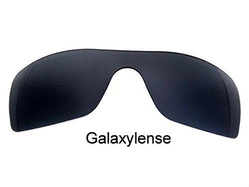 Galaxie verres de rechange pour Oakley Batwolf Couleur Noire polarisé - Noir 0343d1c64f85