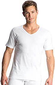 Jockey Men's Sleeved V-Neck Unders