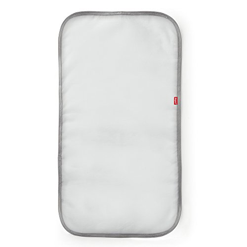 Rayen 6317.01 Paño para Planchar Transparente, Algodón, Blanco y Gris, 70 cm x 35 cm
