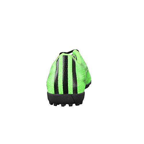 Adidas - Adidas F5 TF Scarpini Calcetto Verdi Uomo Pelle B44302 Verde