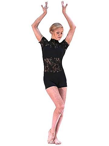 Dans-ez Par strictement Dancin Stretch Lace Body Glove - - L