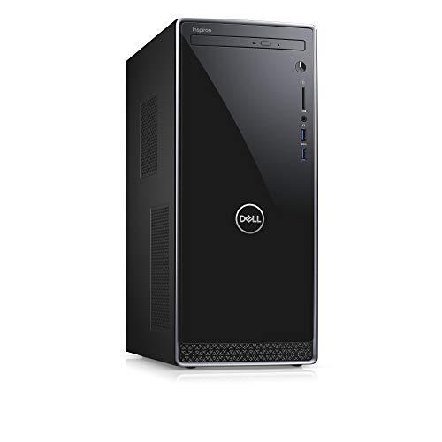 Dell Inspiron 3671, Unité centrale Noir (Intel Core i5, 8Go de RAM, Disque Dur 256Go + 1To, Intel UHD Graphics 630, Windows 10) [Ancien Modèle]