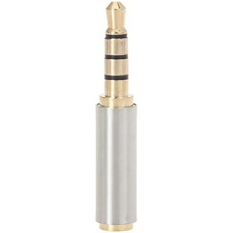 3.5mm a 2.5mm adaptador de enchufe para auriculares para el iPhone Smartphone Device.
