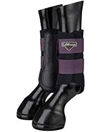 LeMieux ProSport Grafter Brushing Boots Pair, Horse Shoes & Boots Unisex-Adult, Blackcurrant, Small