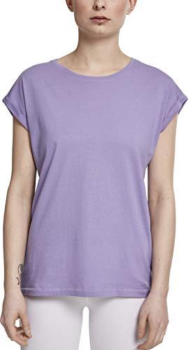 Urban Classics ErwachsenDamen Ladies Extended Shoulder Tee T-Shirt, Lavender, S -