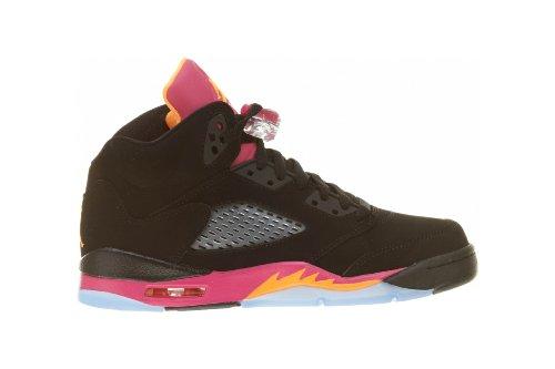 hot sale online e2b33 b348b ... promo code jordan svart 5 junior retro sko air nike jente qgwrbb 4689c  7102d