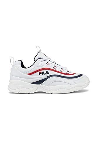 Fila Herren Ray F Low 1010578-01M Sneaker, Weiß (White, 42 EU