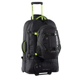 Caribee Fast Track 85 Backpack Trolley in Black - Grand Voyager Pour Le Monde