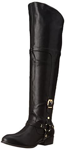 Signature rapport Geena Fashion Chaussures montantes pour femme, Black, 35.5 EU