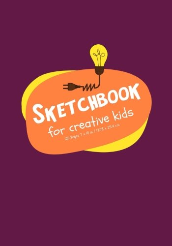 Sketchbook for Creative Kids: 120 Blank Pages for Drawing, Doodling, and Sketching / Classroom Edition