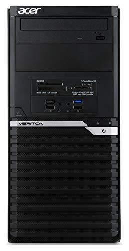 Acer Veriton M6660G Desktop con Processore Intel Core i9 9900K Ram 16GB DDR4 SSD 512GB M.2 PCIE Scheda grafica Nvidia Quadro P1000 4GB DVD RW
