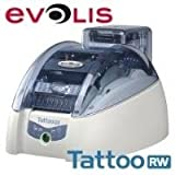 Evolis Tattoo RW - Plastikkartendrucker - monochrom - direkt thermisch - CR-80 Card 85,6 x 54 mm - 300 dpi - Kapazitaet 100 Karten - USB, LAN