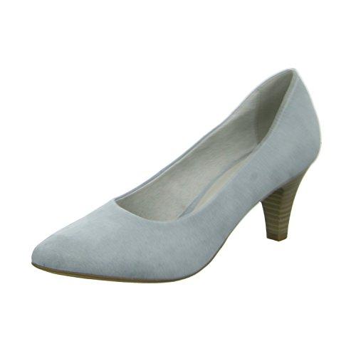 Tamaris 1-22475-26/842 Damen Pumps eleganter Boden 30 bis 50mm Absatz Blau (Blau)