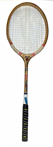 Protoner SPO25 Wood Ball Badminton Racquet, Adult G3-3 1/2-inch