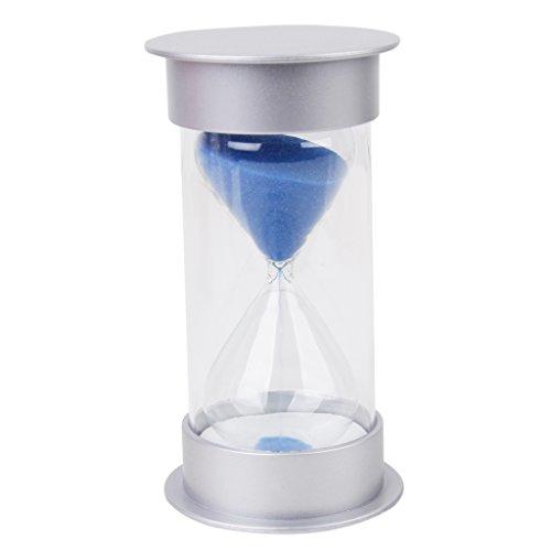 Reloj de Arena de 30 Minutos con Arena de Color Azul
