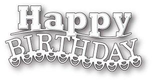 Memory Box Die - Carnival Happy Birthday