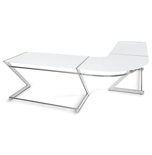 Kokoon kuvo Büro Holz weiß, weiß, 75 x 140 x 80 cm
