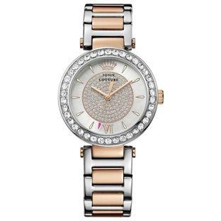 Modren Juicy Couture Ladies' Two Tone Stone Set Bracelet Watch.