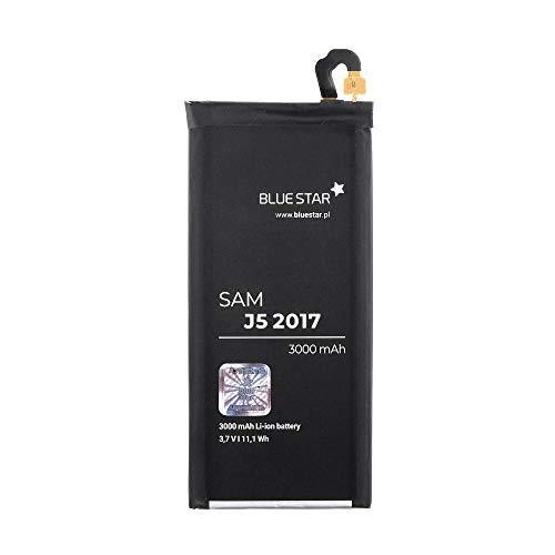 Bluestar Akku Ersatz kompatibel mit Samsung Galaxy A5 2017 - SM-A520 3000 mAh Austausch Batterie Accu EB-BA520ABE