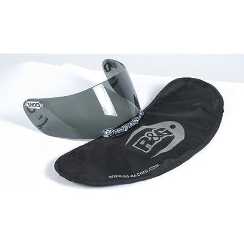 R & G Racing Moto Casco Visera bolsa/Pantalla para su visera tintada